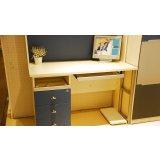 我爱我家儿童家具FG10-AA+G+W组合书桌(深蓝色+