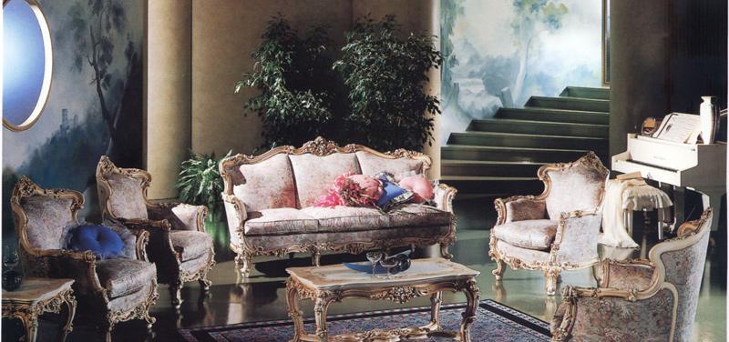 罗浮居意大利SILIK家具F1-43-015-D07沙发F1-43-015-D07