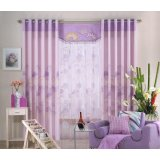 布易窗帘现代时尚系列寄存紫色思念