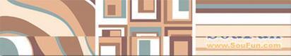 鹰牌简爱系列A0412-C02F腰线砖(56.57)A0412-C02F