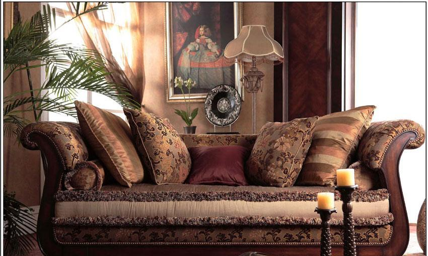 梵思豪宅客厅家具OP5020SF3p沙发OP5020SF3p