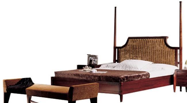 美凯斯家具卧室家具黄金海岸系列床M-C157BM-C157B