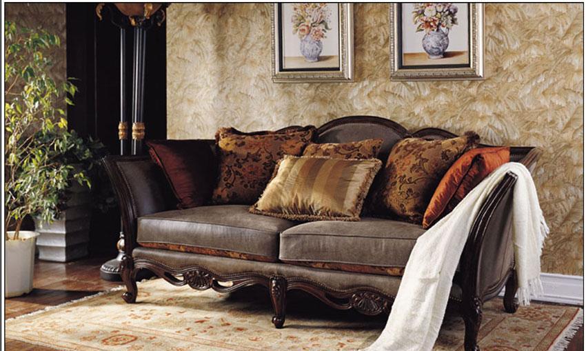梵思豪宅客厅家具OP5115SF3p沙发OP5115SF3p