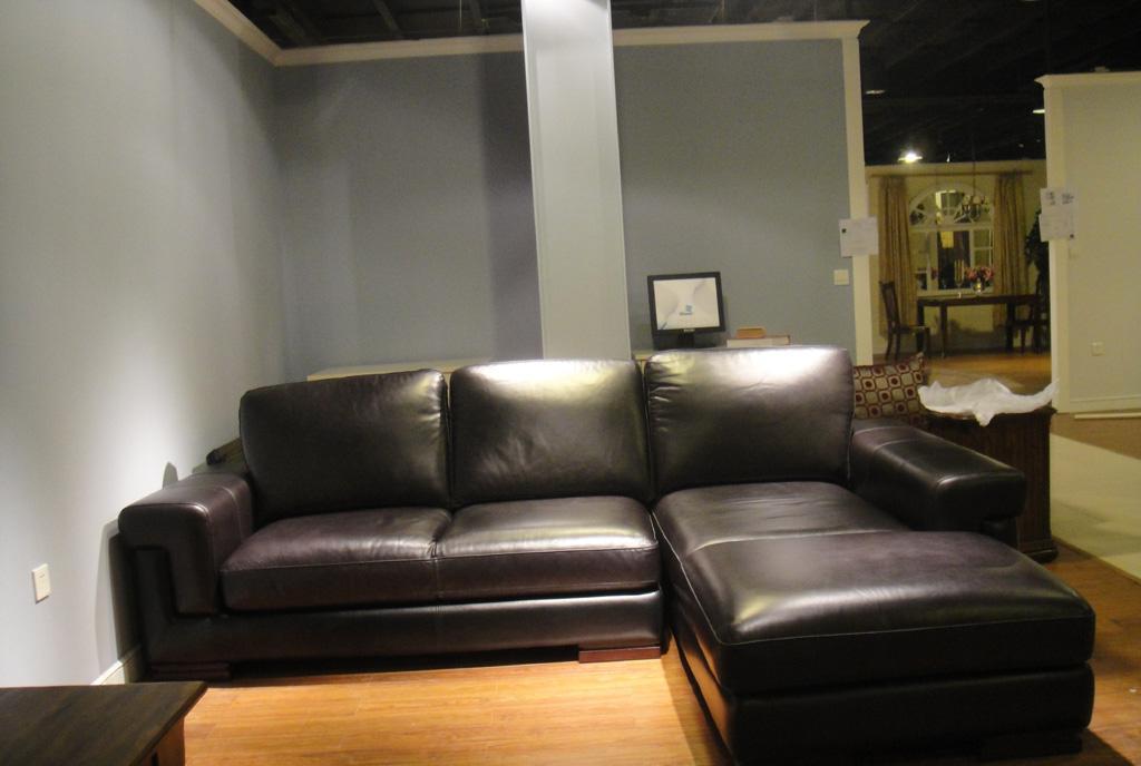 福溢E动力F0903-72ZP左扶手沙发(皮)F0903-72ZP
