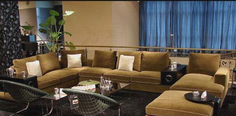 北山家居客厅家具转角沙发1SD0412AD组合1SD0412AD