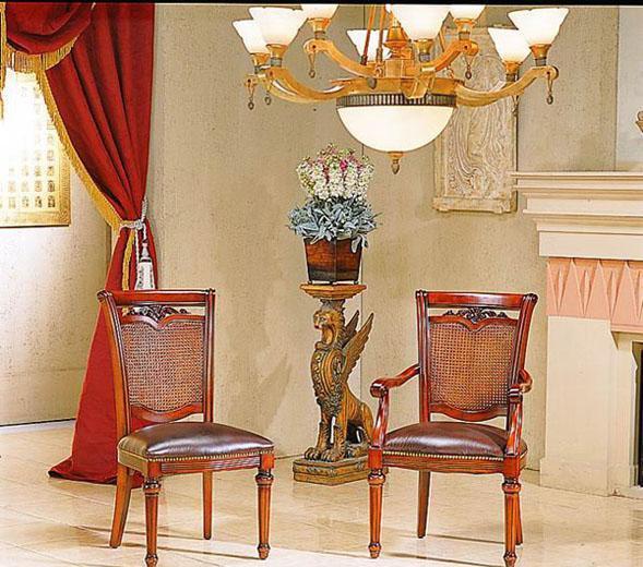 大风范餐椅香舍梵纳系列X-82055-1(浅色)X-82055-1
