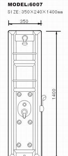 阿波罗淋浴屏TS系列TS-6007TS-6007