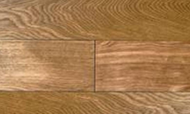 福斯实木复合仿古地板浮雕面系列小麦色