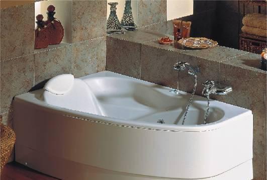 威泰角形普通浴缸(右裙)