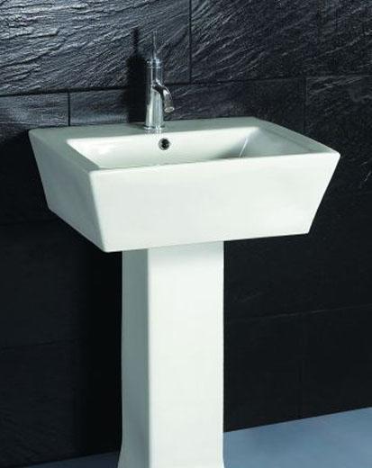 卫浴安华陶瓷立柱盆aP3314aP3314
