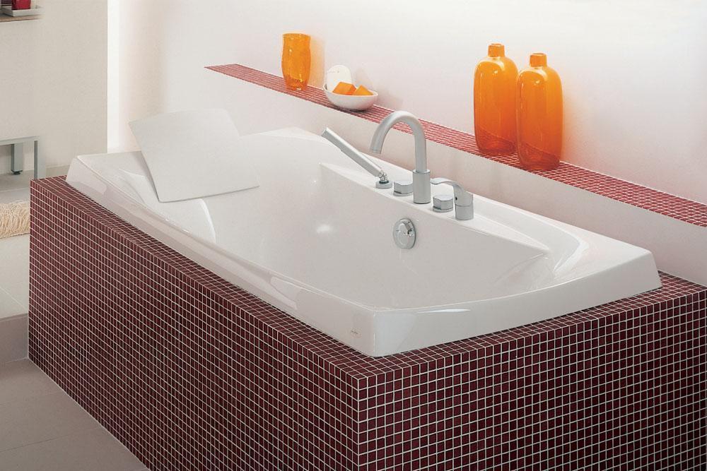 Escale 艾思格尔 嵌入式压克力浴缸K-11343