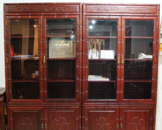三丰书房家具-竹节书柜SGSG