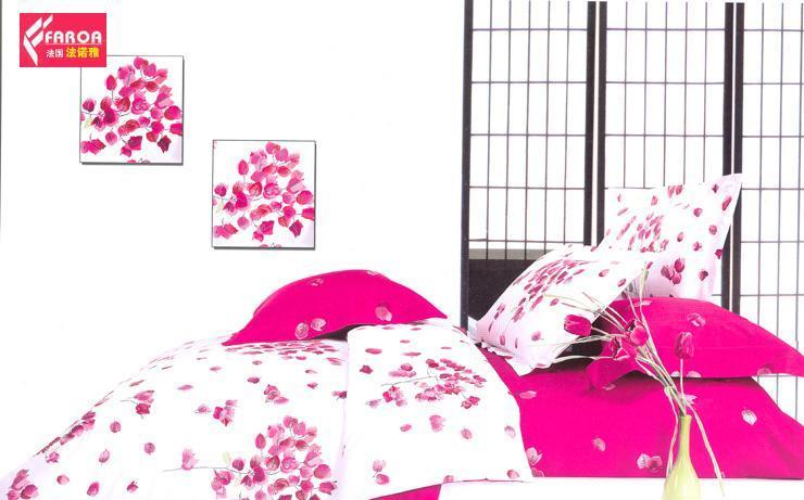 法诺雅特制大被罩床上用品四件套斜纹田园风格活CY01N-1