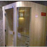 欧纳双圆弧形桑拿淋浴房