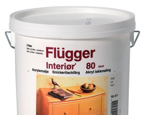 福乐阁水性木器磁漆80Flügger Interior 80