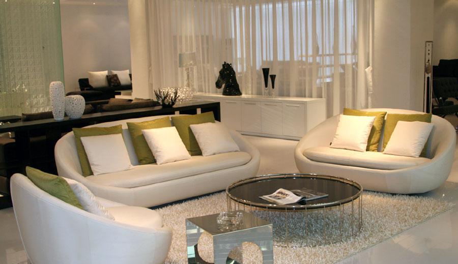 凯帝KD8075沙发(转椅+两位+三位)KD8075