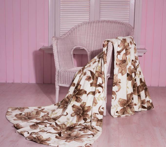 珑棉家纺印花珊瑚绒毯淡雅印花珊瑚绒毯淡雅