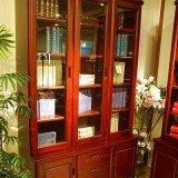 光明书房家具三门书柜001-6312F-1244