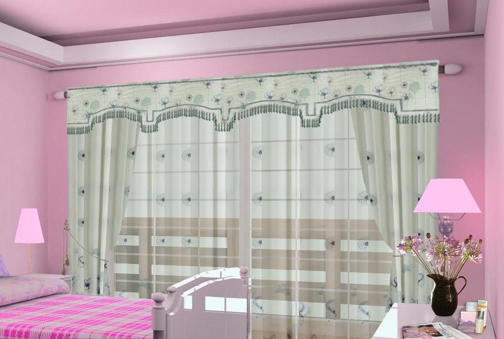 布易窗帘韩式小资系列墨色心情墨色心情