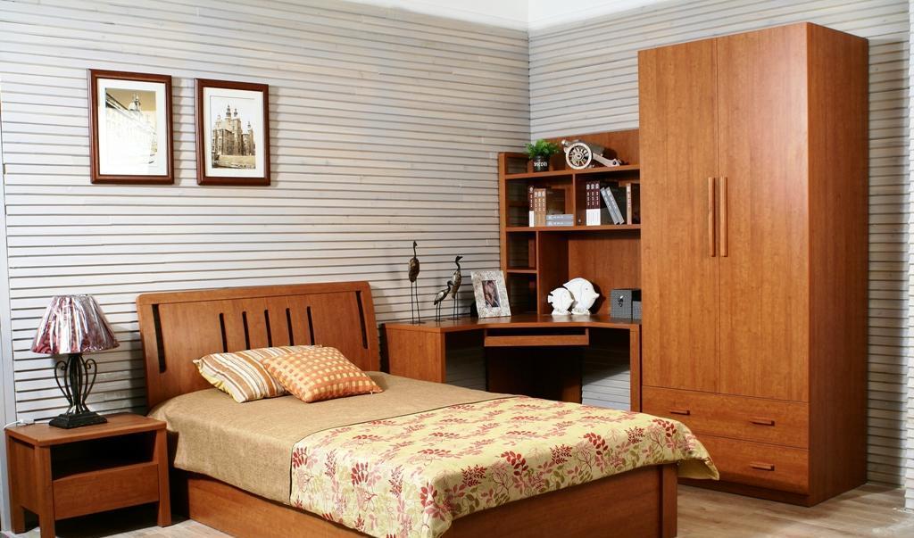 华源轩-卧室家具-红樱桃系列-转角书架-B2804BB2804B