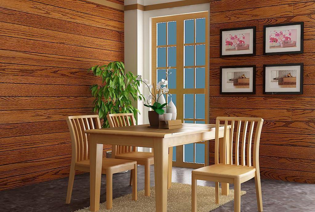 树之语水木年华系列-浅色CZ7501餐桌CZ7501