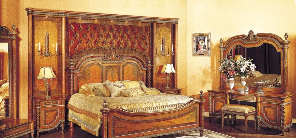 罗浮居卧室家具双人床381-101L381-101L