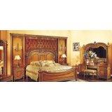 罗浮居卧室家具双人床381-101L