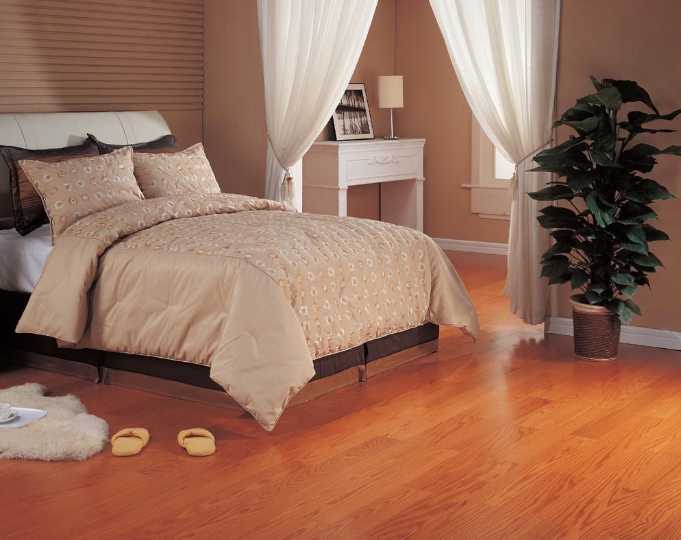北美枫情和居一代系列红橡木多层实木复合地板红橡木