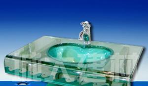 诺米斯卫浴 玻璃柜盆3031