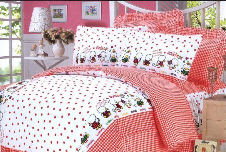 梦洁家纺全棉花边三件套(1.2和1.5床用)14号三件套