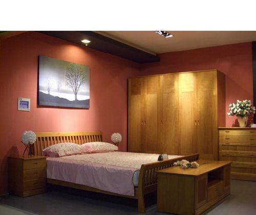 豪纳豪居电视柜樱桃木色系列直线条DZXT01DZXT01