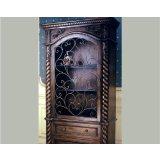 奥汀堡艺术家具06342美式家具实木酒柜装饰柜