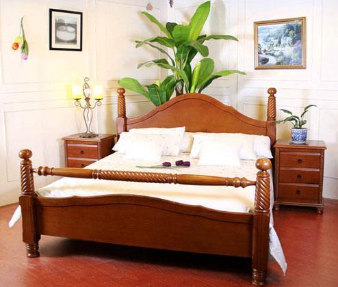 思可达卧室家具302型床-1302型床-1