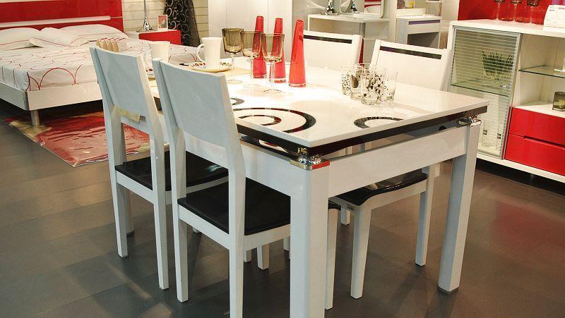 欧瑞家具餐桌椅(1380*850mm)