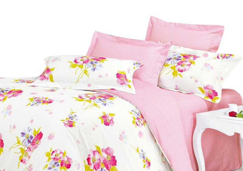 华润世纪家纺印花四件套(带床裙设计)阿曼达LU阿曼达LUA02-150