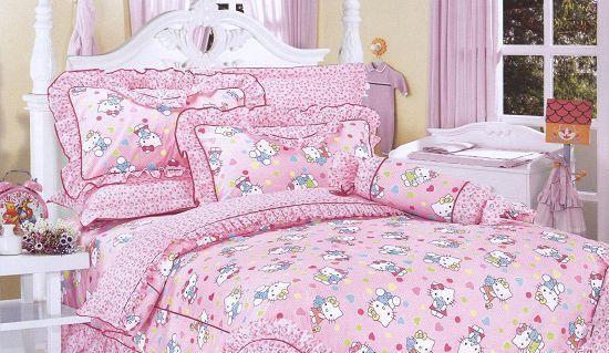 梦洁家纺全棉花边三件套(1.2和1.5床用)30号三件套