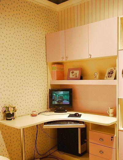 我爱我家儿童家具FG48-K+S+U组合书桌FG48-K+S+U