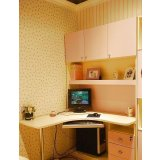 我爱我家儿童家具FG48-K+S+U组合书桌