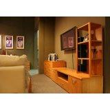 健威家具-加州缘系列-梨木电视柜(三层)