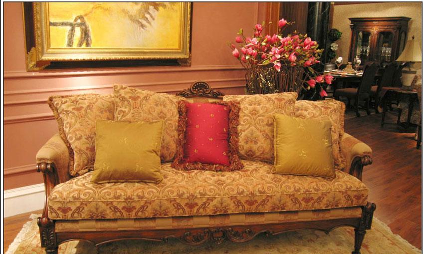 梵思豪宅客厅家具OP5049SF3p沙发OP5049SF3p