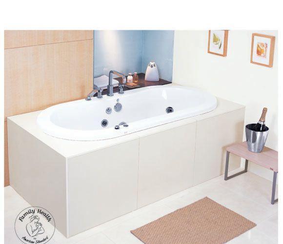 美标1.7米落地式全裙按摩浴缸阿卡西亚系列CT-67CT-6705.003
