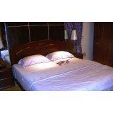 谷氏实木家具-卧室家具-单板双人床G-3