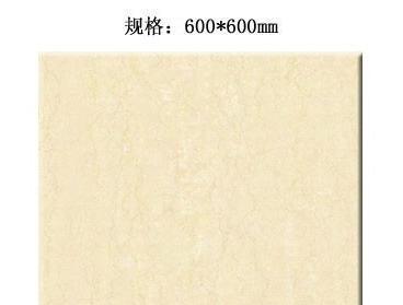 嘉俊意大利米黄系列CH6012抛光砖CH6012