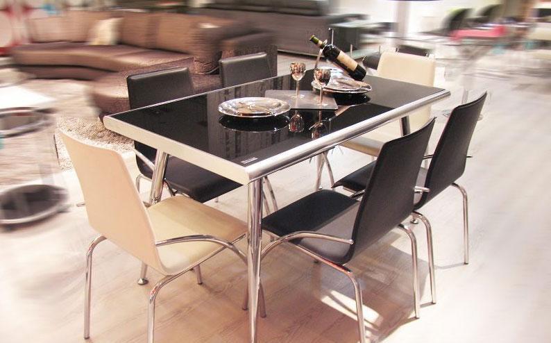 斯帝罗兰时尚休闲6人餐台CT820CT820
