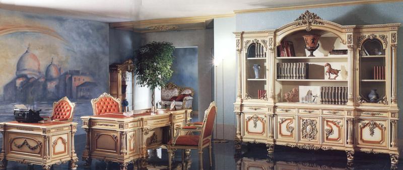 罗浮居书桌意大利SILIK家具F1-43-015-D25F1-43-015-D25