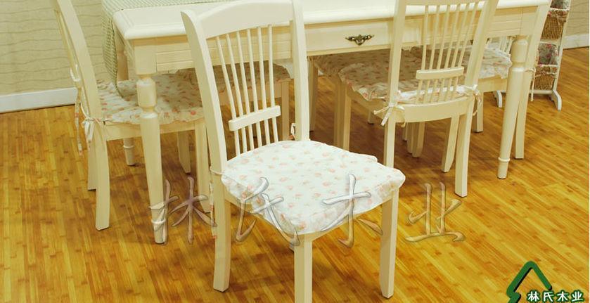 林氏木业PN2白色餐椅PN2
