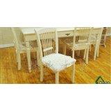 林氏木业PN2白色餐椅