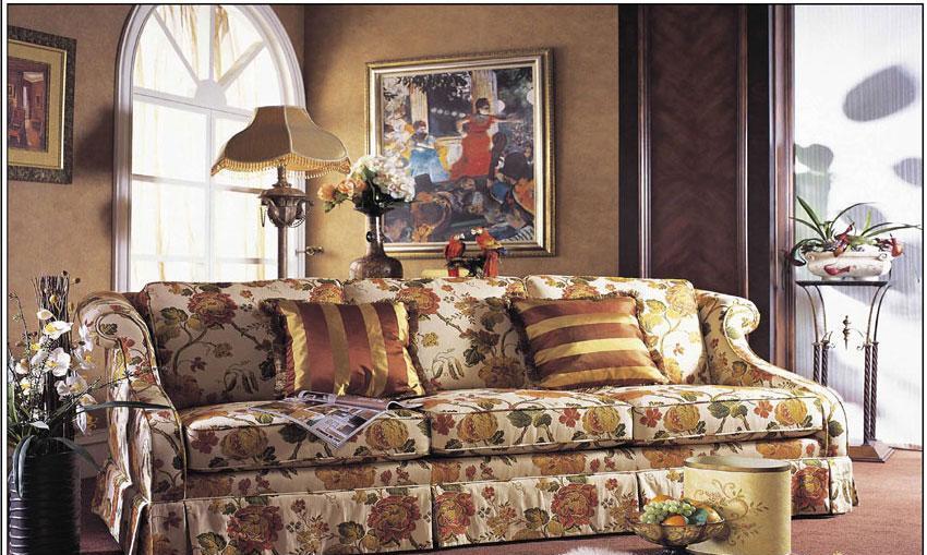 梵思豪宅客厅家具FH5135SF3p沙发FH5135SF3p