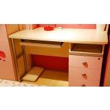 我爱我家儿童家具FG10-AA+G+W组合书桌(粉红色+