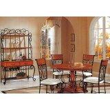 考拉乐拿破仑铁艺系列06-800-2-950SE无扶手餐椅